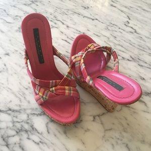 Laundry by Shelli Segal platform Sandals shoes